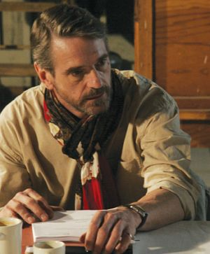Jeremy Irons als Regisseur in Inland Empire