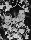 Olivia de Havilland mit ihrem Mann, Pierre Galante.