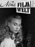 Das Cover der Neuen Filmwelt im Jahr 1947, 1. Jahrgang, Heft 2.