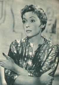 Lilli Palmer in &quot;Wie ein Sturmwind&quot;.