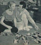 Tony Curtis mit Gattin Janet Leigh