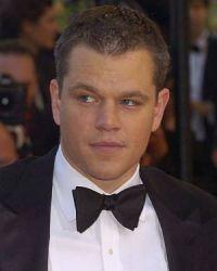 Matt Damon mit eleganter schwarzer Fliege in Cannes 2007.