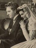 """Katharine Hepburn und Pail Henreid in """"Song of Love""""."""