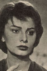 Ausdrucksstarke Sophia Loren