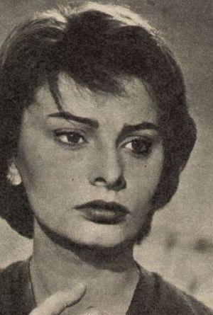 Ausdrucksstarke Sophia Loren