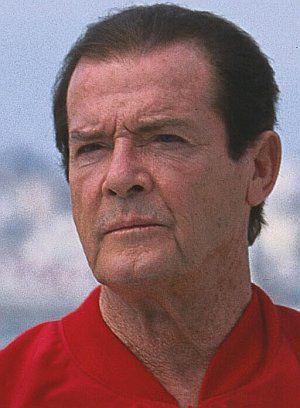 "Roger Moore in ""Boat Trip"""