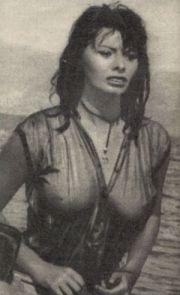 Sophia loren in einer filmszene