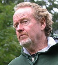 Ridley Scott am Set von Alle Kinder dieser Welt