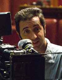 Paolo Sorrentino bei den Dreharbeiten zu