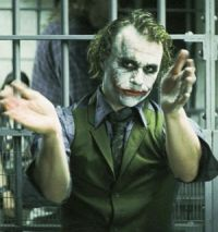 Heath Ledger als Joker in