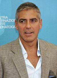 George Clooney am Lido 2008