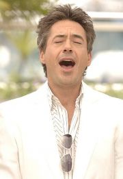 Gottesanbetender Robert Downey Jr. in Cannes 2006