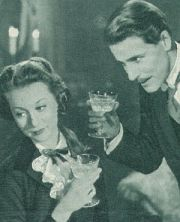 "Moira Shearer und John Justin in ""The Man Who Loved Redheads"""