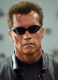 Arnold Schwarzenegger in: Terminator 3 - Rebellion der Maschinen