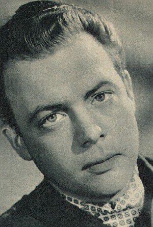 Klausjürgen Wussow im Jahre 1958