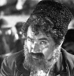 """Alexander Granach in """"Das letzte Zigeunerlager"""""""