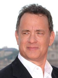 Tom Hanks auf der Illuminati-Premiere in Rom (2009)