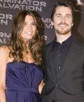 Christian Bale mit Ehefrau Sibi Blazic