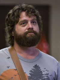 Zach Galifianakis mit &quot;Hangover&quot;