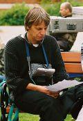 Andreas Dresen bei der Arbeit