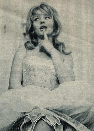 Annette Vadim, stille Nachfolge von Bardot
