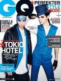 Bill und Tom Kaulitz auf dem Cover der GQ-Ausgabe im Februar 2010