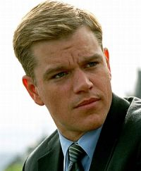 "Matt Damon in ""Syriana"""