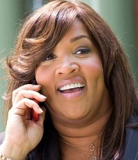 "Kym Whitley in ""College Road Trip"""