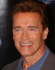 Arnold Schwarzenegger auf der Premiere von Terminator 3 - Rebellion der Maschinen