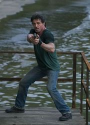 "Sylvester Stallone in ""The Expendables"""
