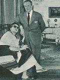Zarah Leander und Ehemann Arne Hülphers