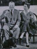 Ernst Schröder und seine Gattin