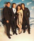 Ken Duken, Ed Westwick, Felicity Jones und Adam Bousdoukos auf der Münchner Premiere