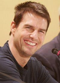 Auf der Pressekonferenz in Berlin: Tom Cruise