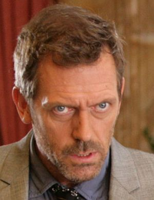"Hugh Laurie als ""Dr. House"""