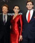 Jerry Bruckheimer, Penélope Cruz und Sam Claflin in München