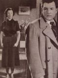 Vivien Leigh und Kenneth More streiten