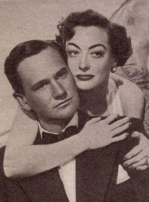 Joan Crawford hat Wendell Corey fest im Griff