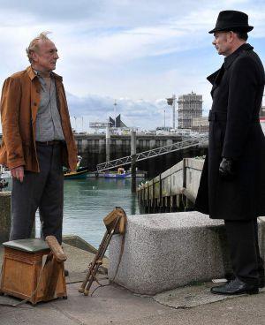 """Andre Wilms und Jean-Pierre Darroussin in """"Le Havre"""""""