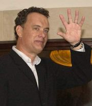 Tom Hanks auf PR-Tour fr Terminal