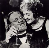 """Emil Jannings und Marlene Dietrich in """"Der blaue Engel"""""""