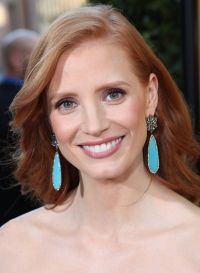 Jessica Chastain auf der LA-Premiere 2011 zu &quot;The Help&quot;