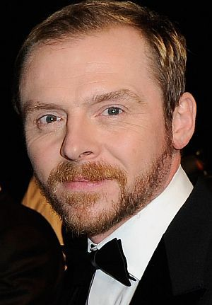 "Simon Pegg auf der ""Mission: Impossible""-Premiere in Dubai"