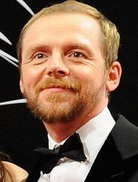 Simon Pegg auf der Dubai-Premiere von &quot;Mission: Impossible&quot;
