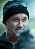 "David Fincher am Set zu ""Verblendung"""