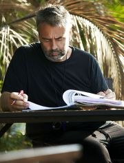 Luc Besson am Set von &quot;The Lady - Ein geteiltes Herz&quot;