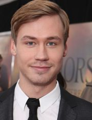 David Kross auf der New Yorker Premiere von &quot;Gefhrten&quot;