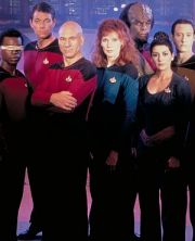"Die Crew von ""Star Trek - The Next Generation"""
