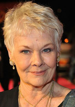 "Judi Dench auf der London-Premiere von ""The Best Exotic Marigold Hotel"""