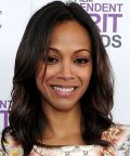 Zoë Saldaña  bei den Independent Spirit Awards 2012